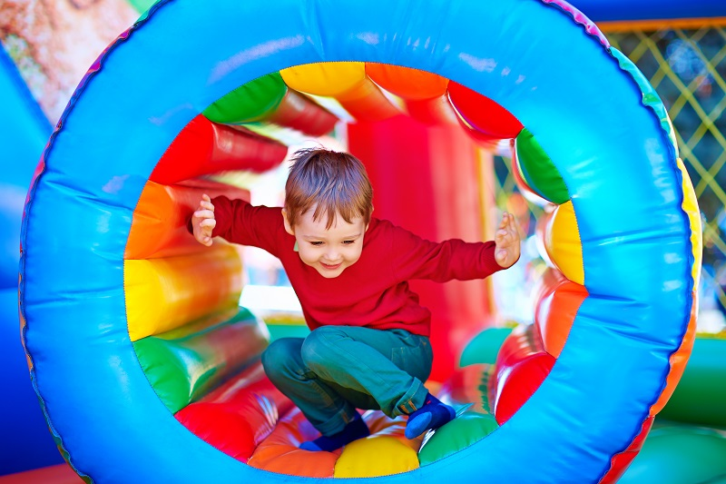bouncy castle inflatable bounce house obstacle course